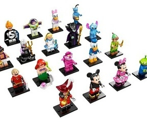 71012 Minifiguren Disney